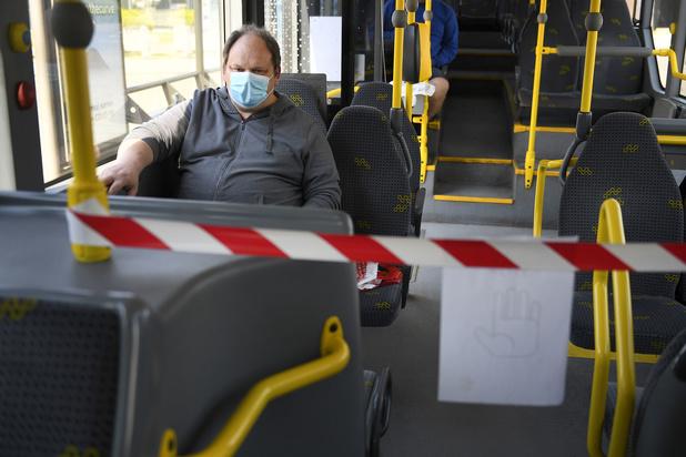 Social distance van 1,5 meter niet langer verplicht voor openbaar vervoer