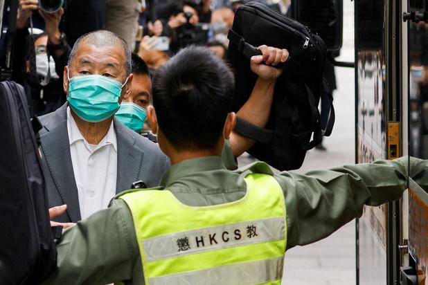 Hongkong: mediamagnaat veroordeeld tot 14 maanden cel voor prodemocratisch protest