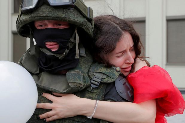 Peiling Russisch staatspersbureau: 'Slechts 2 procent stemde voor Loekasjenko'