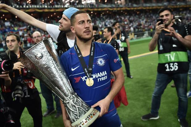 """""""Je pense que c'est un au-revoir,"""" la déclaration de Hazard après la finale d'Europa League"""