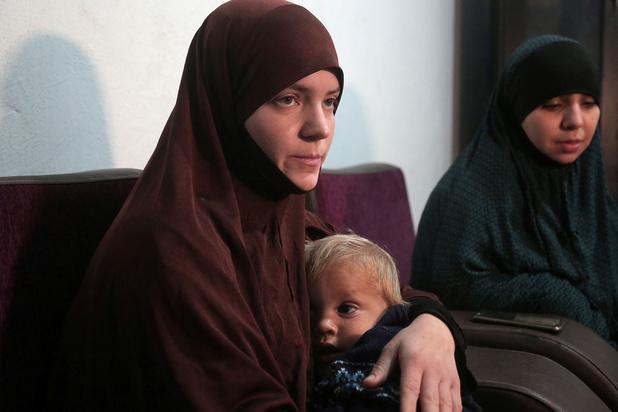 Drie IS-vrouwen en hun kinderen aangekomen in België