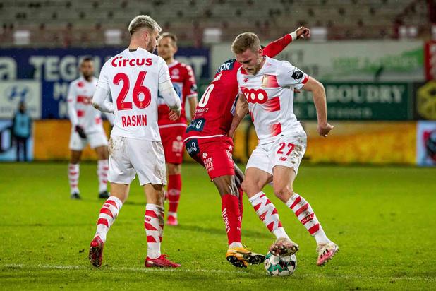 Le Standard s'enfonce à Courtrai, Gand aligne une deuxième victoire d'affilée