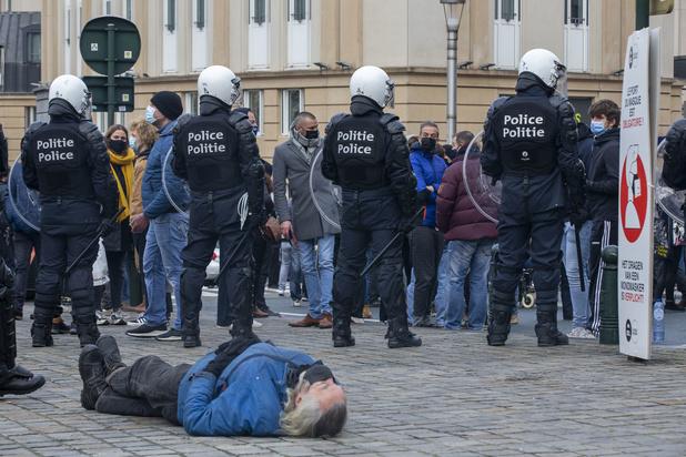 300-tal arrestaties bij niet-toegelaten betogingen in Brussel