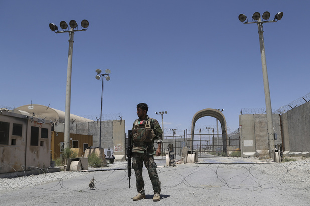 Na 20 jaar: Amerikaanse en NAVO-troepen verlaten strategische Afghaanse basis Bagram
