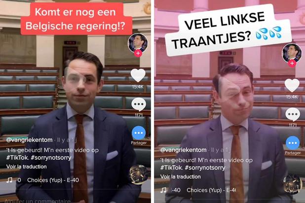Le Vlaams Belang cible les jeunes et débarque sur le réseau social TikTok