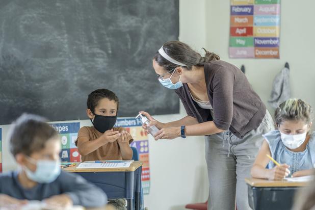 Studie Sciensano: 'Scholen niet de motor van de epidemie'
