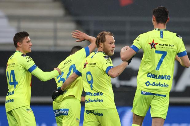 AA Gent telt Charleroi uit voor play-off II