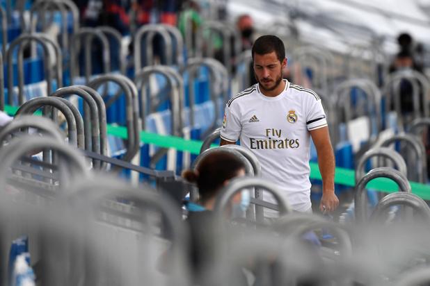 Eden Hazard absent de l'entraînement du Real