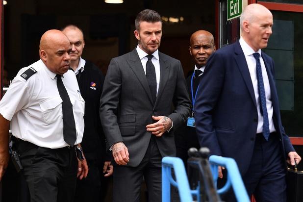 6 mois de suspension de permis pour David Beckham