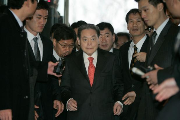 Samsung-voorzitter Lee Kun-hee overleden