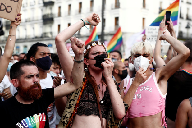 Opnieuw protest in Spanje na moord op homoseksuele jongeman