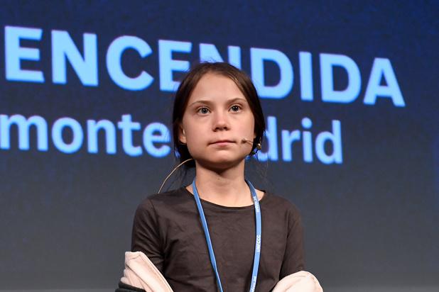 """Greta Thunberg à la COP25: """"Nous ne pouvons pas attendre plus longtemps"""""""