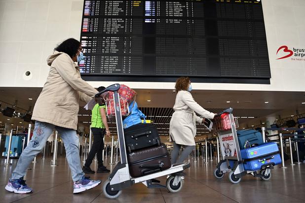 Reizigers laten zich niet tegenhouden door rode zones