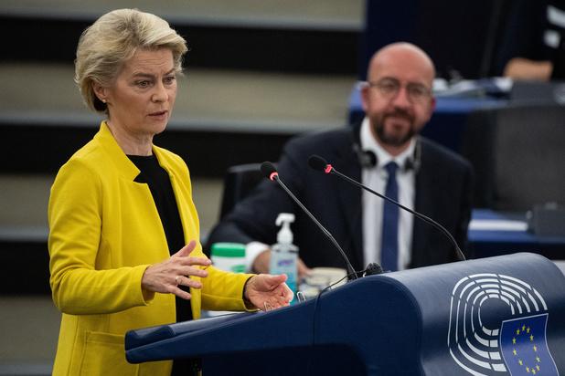 Von der Leyen: 'Rechtsstaatmechanisme wordt pas vanaf de herfst toegepast'