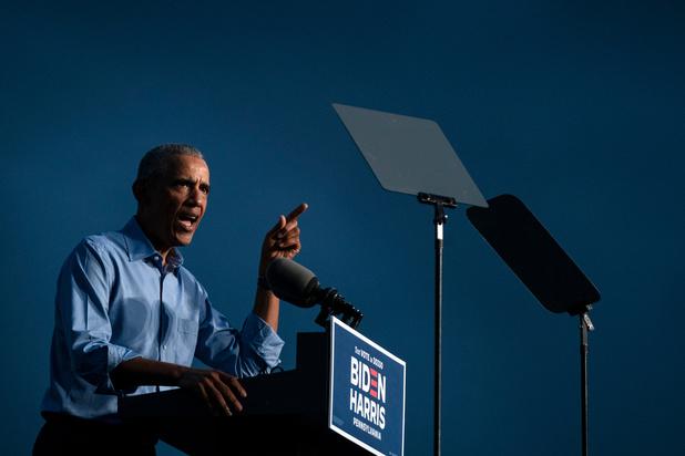 Elections USA: Obama appelle à oublier les sondages et à se mobiliser pour Biden