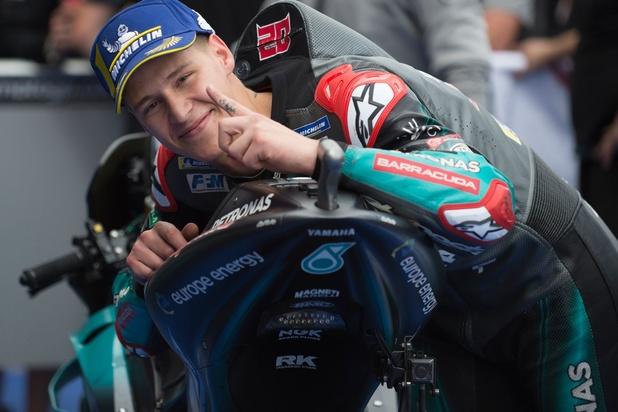 Fabio Quartararo ou le bon petit diable du MotoGP