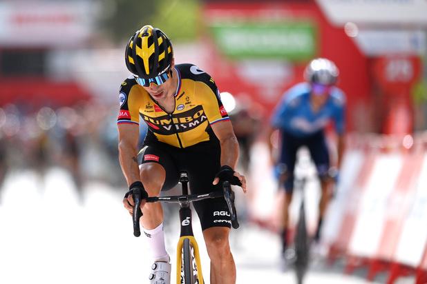 Primoz Roglic klimt naar zege in elfde etappe Vuelta