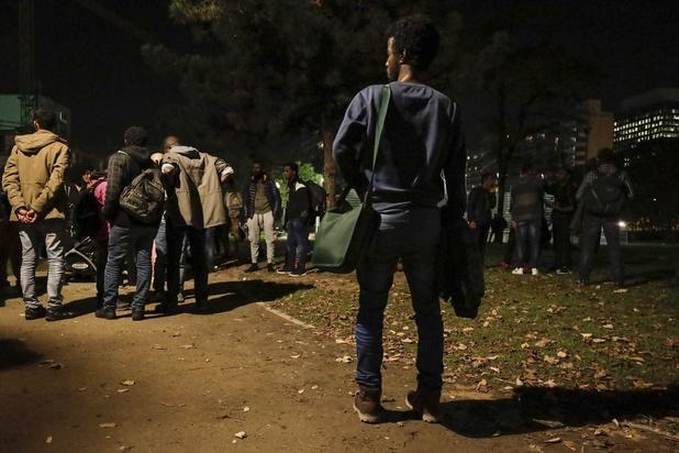 Le parc Maximilien évacué durant la nuit
