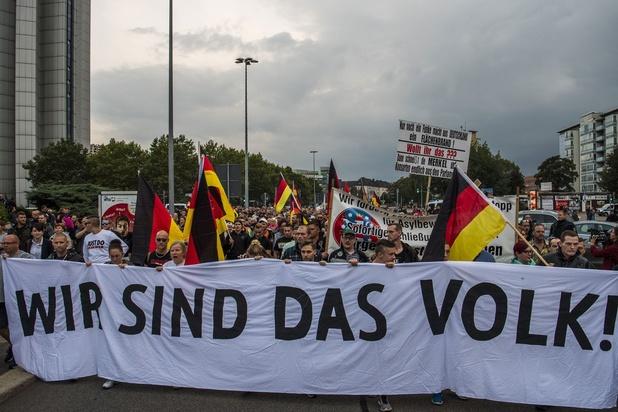 Duitse binnenlandminister: 'Extreemrechts grootste bezorgdheid'