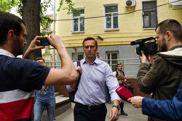 'Chemische stoffen op handen en haar Navalni'