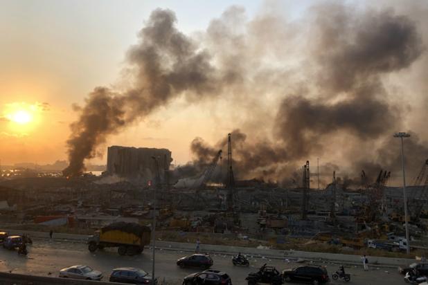 Ook Belg omgekomen bij grote ontploffing in Beiroet