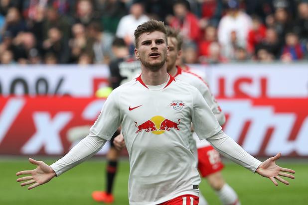 RB Leipzig gaat vol voor de Duitse titel