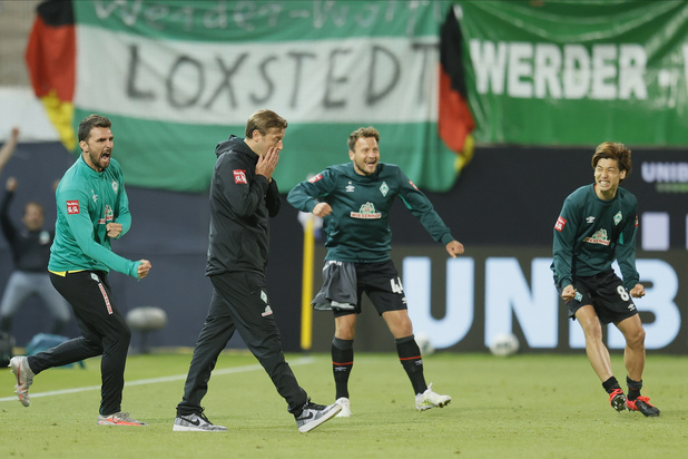 Le Werder sauve sa place en Bundesliga
