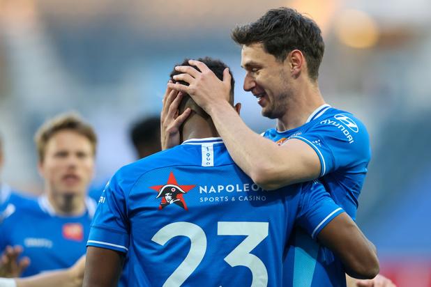 AA Gent pakt derde zege op rij en komt opnieuw naast Mechelen op kop in Europe play-offs