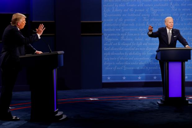 Eerste debat Trump en Biden: chaos regeert, weinig inhoud