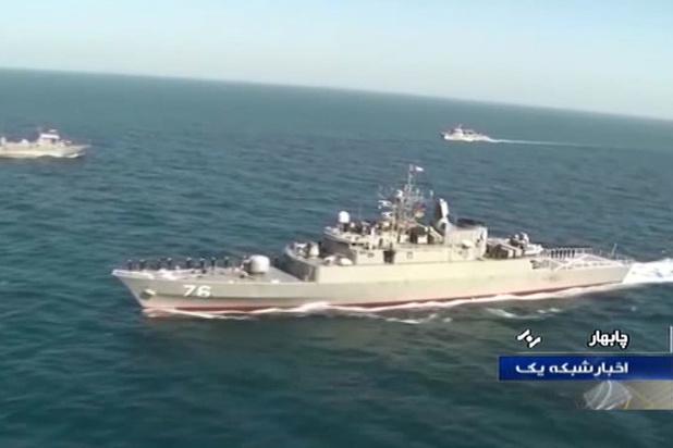 Iraans marineschip getroffen door eigen vuur: 19 doden en 15 gewonden
