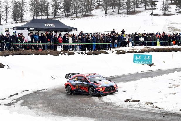 Thierry Neuville remporte le Rallye de Monte-Carlo pour la première fois