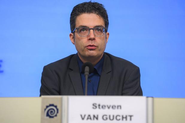 Steven Van Gucht: 'Te vroeg om van echte daling te spreken'