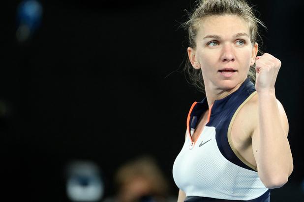 Open d'Australie: Halep bousculée mais retrouvera Williams en quarts