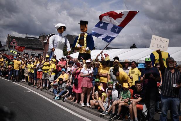 70.000 fans présents pour le Tour de France à Binche