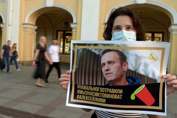 Navalny werd waarschijnlijk vergiftigd