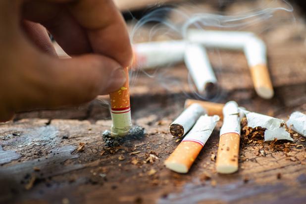 Ook uitgedoofde sigaret zorgt voor luchtvervuiling