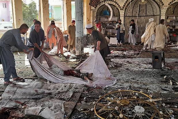 IS eist aanslag in Afghaanse moskee op: zeker 55 doden