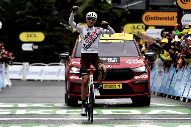 L'Australien O'Connor s'impose à Tignes dans la 9e étape du Tour de France