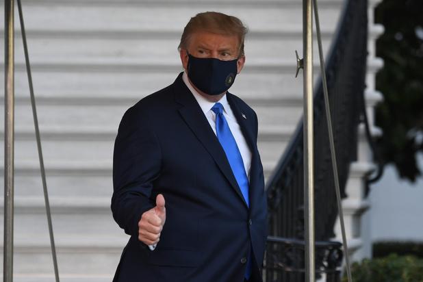 Coronavirus: le médecin de Trump affirme qu'il n'a plus de symptômes depuis 24 heures