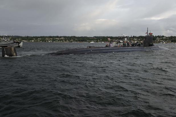 Amerikaanse kernonderzeeër beschadigd bij botsing met 'onbekend object' in Zuid-Chinese Zee