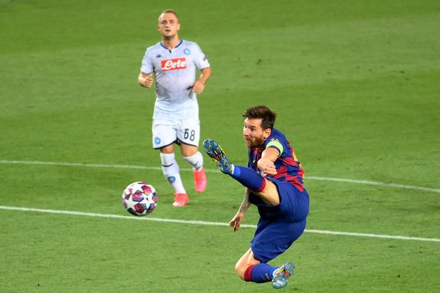Barcelona schakelt Napoli uit, Bayern zet Chelsea opzij