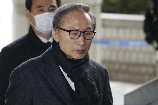 Corée du Sud: l'ex-président Lee définitivement condamné à 17 ans de prison