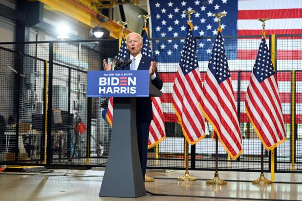 Biden opent aanval op Trump