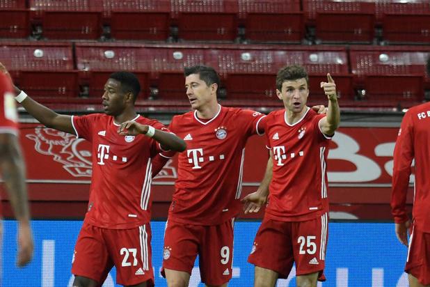 Bundesliga : Le Bayern boucle l'année 2020 en tant que leader
