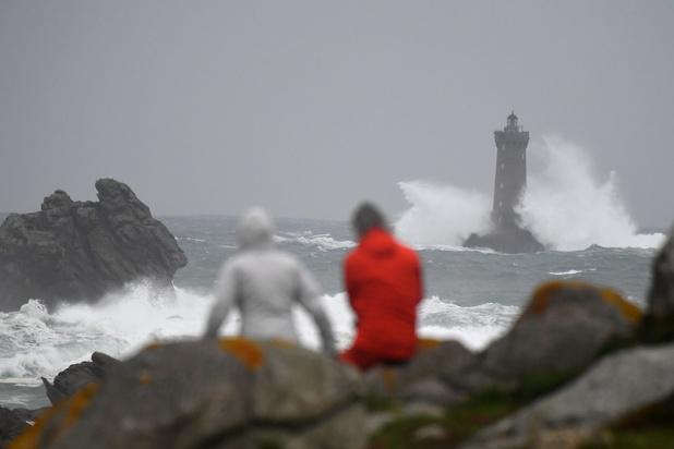 Tempête Amélie en France: rafales à 163 km/h, 140.000 foyers sans électricité