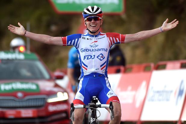 Vuelta: Fransman Gaudu wint 11e rit, Roglic blijft leider