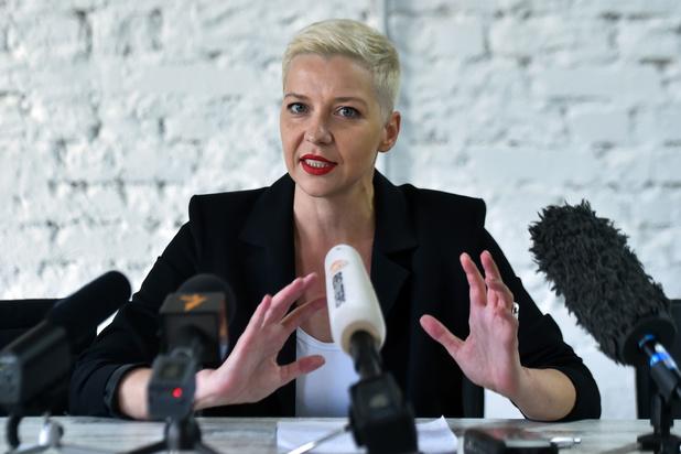 'Wit-Russische oppositieleidster Maria Kolesnikova opgepakt'