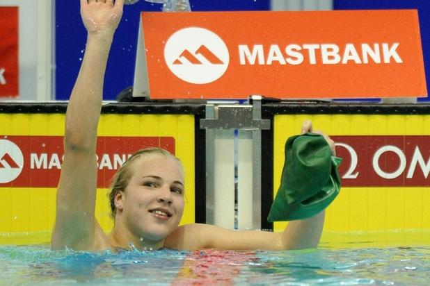 Ruta Meilutyte, championne olympique de natation, prend sa retraite à 22 ans
