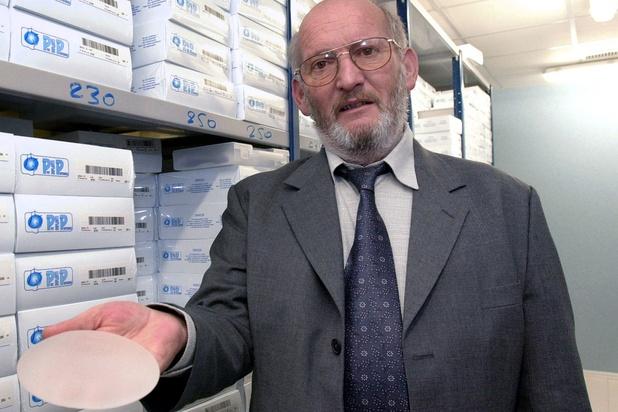 Le fondateur des prothèses PIP, Jean-Claude Mas, est mort à 79 ans