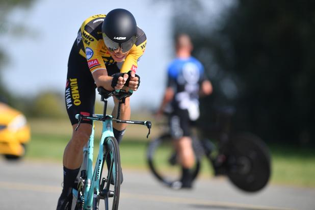 Wout Van Aert champion de Belgique du contre-la-montre